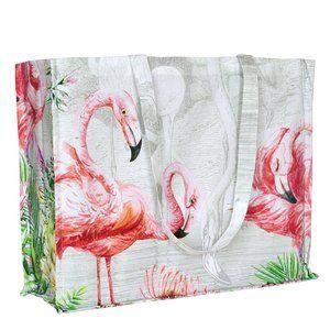 Michel Design Works Designer Flamingo Tote Bag